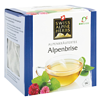 Swiss Alpine Herbs Bio Tee Alpenbrise 14x1g