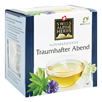 Swiss Alpine Herbs Bio Tee Traumhafter Abend 14x1g