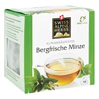 Swiss Alpine Herbs Bio Tee Bergfrische Minze 14x1g