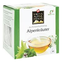 Swiss Alpine Herbs Bio Tee Alpenkräuter 14x1g