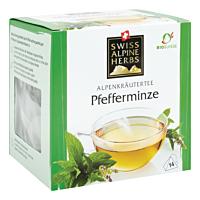 Swiss Alpine Herbs Bio Tee Pfefferminze 14x1g