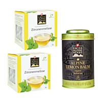 Swiss Alpine Herbs Bio Tee Zitronenmelisse DUO & Teedose