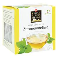 Swiss Alpine Herbs Bio Tee Zitronenmelisse 14x1g