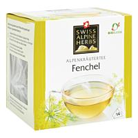 Swiss Alpine Herbs Bio Tee Fenchel 14x1g