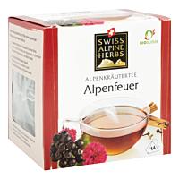 Swiss Alpine Herbs Bio Tee Alpenfeuer 14x1g