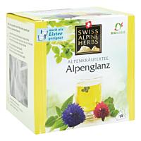Swiss Alpine Herbs Bio Tee Alpenglanz 14x1g