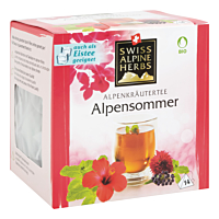 Swiss Alpine Herbs Bio Tee Alpensommer 14x1g
