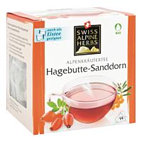 Swiss Alpine Herbs Bio Tee Hagebutte-Sanddorn 14x1.2g