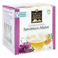 Swiss Alpine Herbs Bio Tee Sanddorn-Malve 14x1.2g