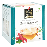 Swiss Alpine Herbs Bio Tee Gewürzzauber 14x2g