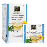 Swiss Alpine Herbs Bio Tee Taufrischer Morgen 24x1g