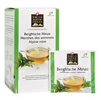 Swiss Alpine Herbs Bio Tee Bergfrische Minze 24x1g