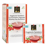 Swiss Alpine Herbs Bio Tee Hagebutte-Sanddorn 24x1.2g