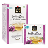 Swiss Alpine Herbs Bio Tee Sanddorn-Malve 24x1.2g