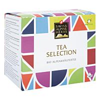 Swiss Alpine Herbs Bio Alpenkräuter Tee Selection 16.8g